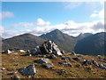 NN2310 : Summit of Stob Coire Creagach by Iain Russell