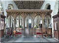 SS2324 : The beautiful 15th Century Rood Screen, St Nectan's church by Derek Voller