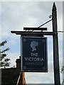 TM2363 : The Victoria Public House sign by Adrian Cable