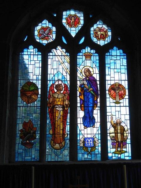 Lady Chapel window, St Constantine church