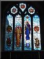 SW7329 : Lady Chapel window, St Constantine church by David Smith