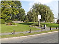 TM0019 : Abberton & Langenhoe Village Sign by Adrian Cable