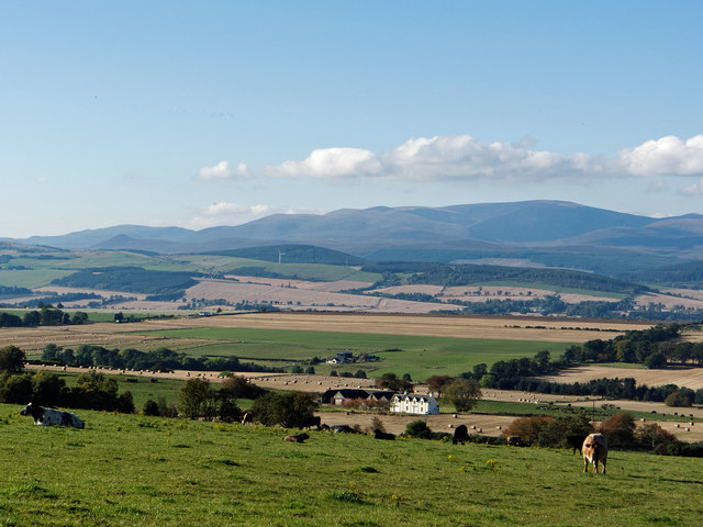 Productive farmland of Easter Ross