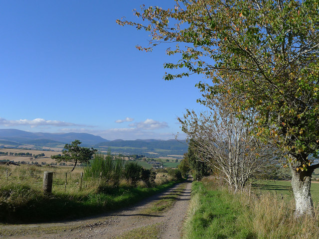 Access road to West Brae
