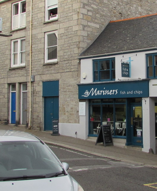 Mariners fish and chips, Penryn