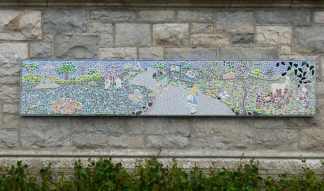 Happy Valley Toilets Mosaic (Left) by Gerald England