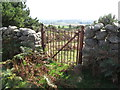 J3623 : A Belfast Water Commissioners' gate west of Glasdrumman Cottage by Eric Jones