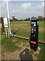 TM0614 : Car Park Ticket Machine at Crudmore Grove Country Park by Adrian Cable