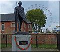 SK5905 : Mahatma Gandhi statue on Belgrave Road by Mat Fascione