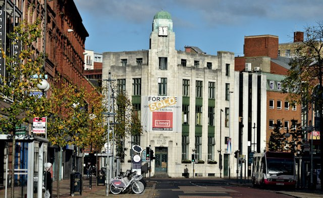 Former Bank of Ireland, Royal Avenue, Belfast - October 2015(1)