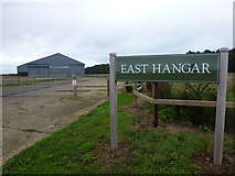 TF9038 : EAST HANGAR - On the former site of North Creake Airfield by Richard Humphrey