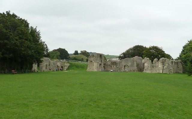 Ruined Priory of St Pancras, Lewes - General view