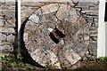 SD3498 : Millstone at Hawkshead Saw Mill by Philip Halling