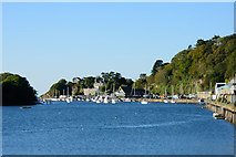 SH5638 : Entrance to Porthmadog Harbour by John Firth