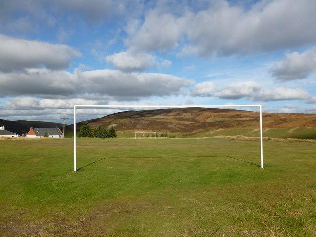 Football pitch, Leadhills