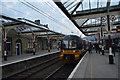 SD9851 : Leeds Train, Skipton Station by N Chadwick