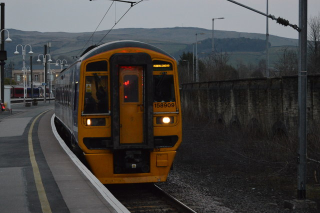Train to Ribblehead, Skipton Station