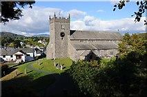 SD3598 : Hawkshead church by Philip Halling
