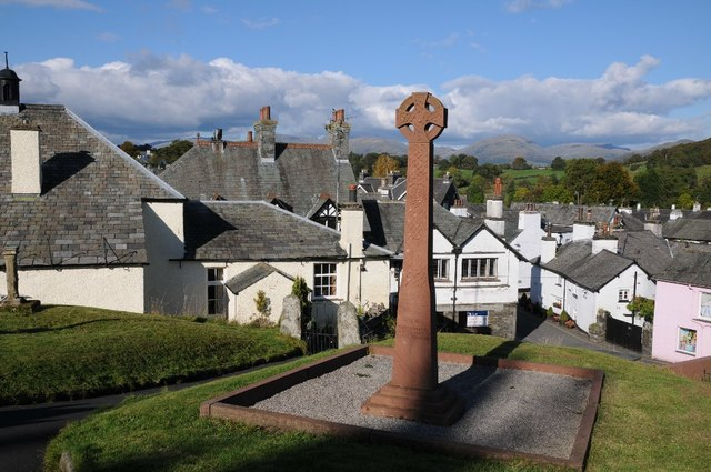 Celtic cross, Hawkshead