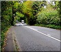 SO8403 : Change in markings on the A46 Bath Road, Woodchester by Jaggery