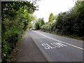SO8303 : SLOW on the A46, Rodborough by Jaggery