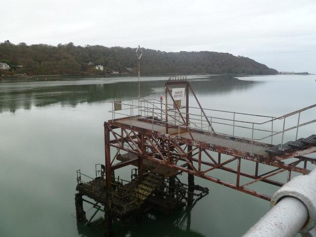 Bangor Pier landing stage