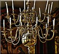 TG1001 : Wymondham Abbey: The chandelier in the north chapel by Michael Garlick