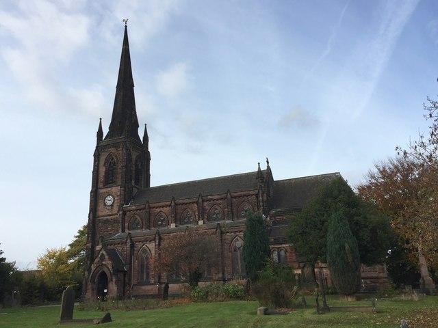 Hartshill: Holy Trinity church