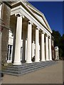 SW8339 : Pillars on south front of Trelissick House by David Smith