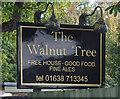 TL6973 : Sign for the Walnut Tree, Worlington by JThomas