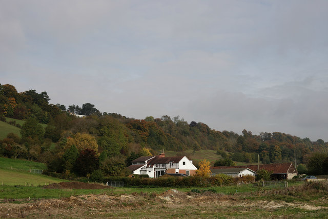 View Towards Bug Hill, Woldingham