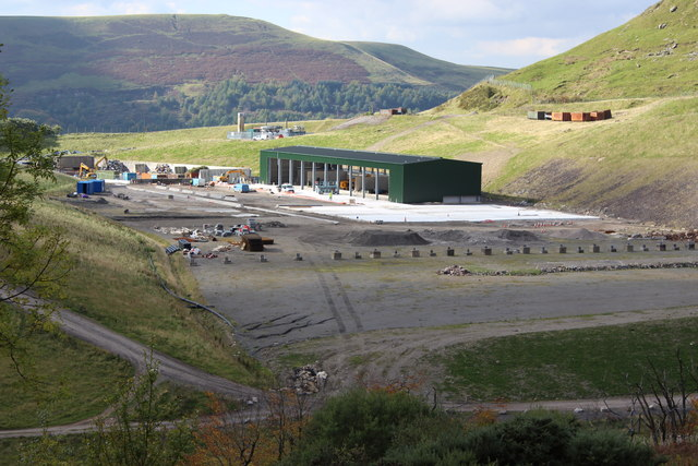New waste transfer station, Silent Valley