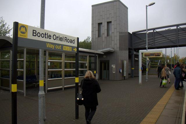 Bootle Oriel Road Railway Station
