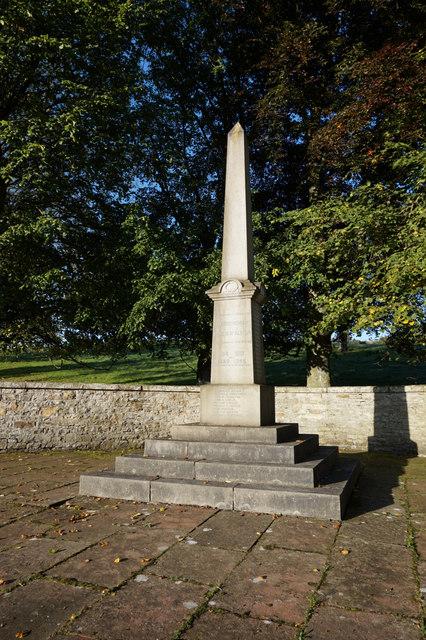 Alston War Memorial at Raise Bank
