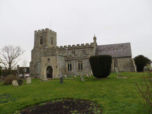 The Church of St Swithun at Great Chishill