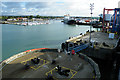 SU6301 : Portsmouth Harbour by Anne Burgess