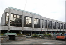 NJ9406 : Shopping centre by Bill Harrison