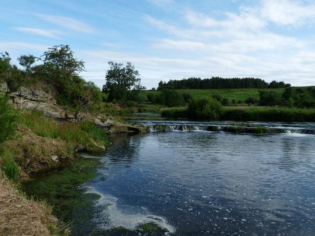 River Whiteadder at Willie's Hole