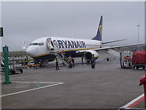 TL5523 : Ryanair flight to Bratislava, Stansted Airport, Essex by Robin Sones