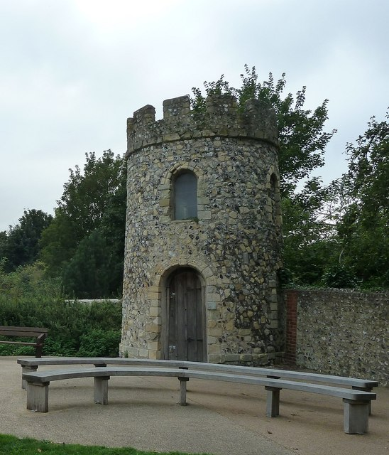 Priory Park, Lewes - Victorian Tower