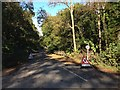 ST7941 : Road closure on the Frome Road by James Harrison