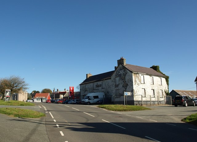 Approaching the village centre at Maenclochog