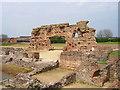 SJ5608 : Roman Bath Remains at Viroconium Cornoviorum (Wroxeter Roman City) by Jeff Buck