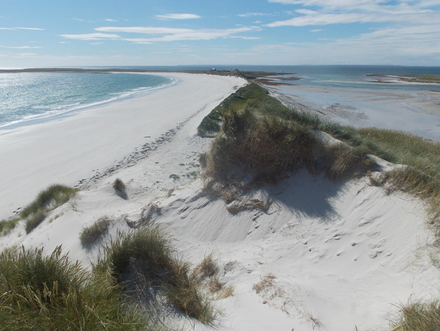 Sanday: dunes and sands at Tresness