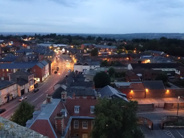 View of New Park Street, Devizes, looking north