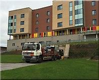 SJ8545 : Royal Stoke University Hospital: oxygen delivery by Jonathan Hutchins