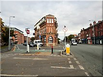 SJ8297 : Chester Road, St Georges by Gerald England