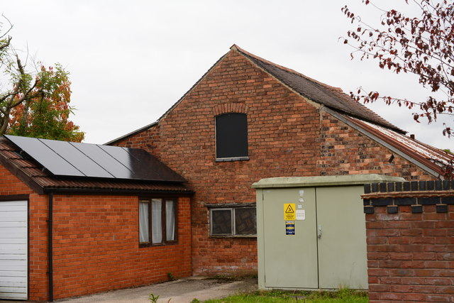 A disused industrial unit, Western Close, Ashby
