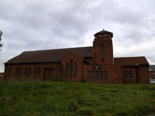 Church of the Ascension, Seacroft: south side