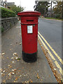 TM0024 : Wimpole Road Victorian Postbox by Geographer
